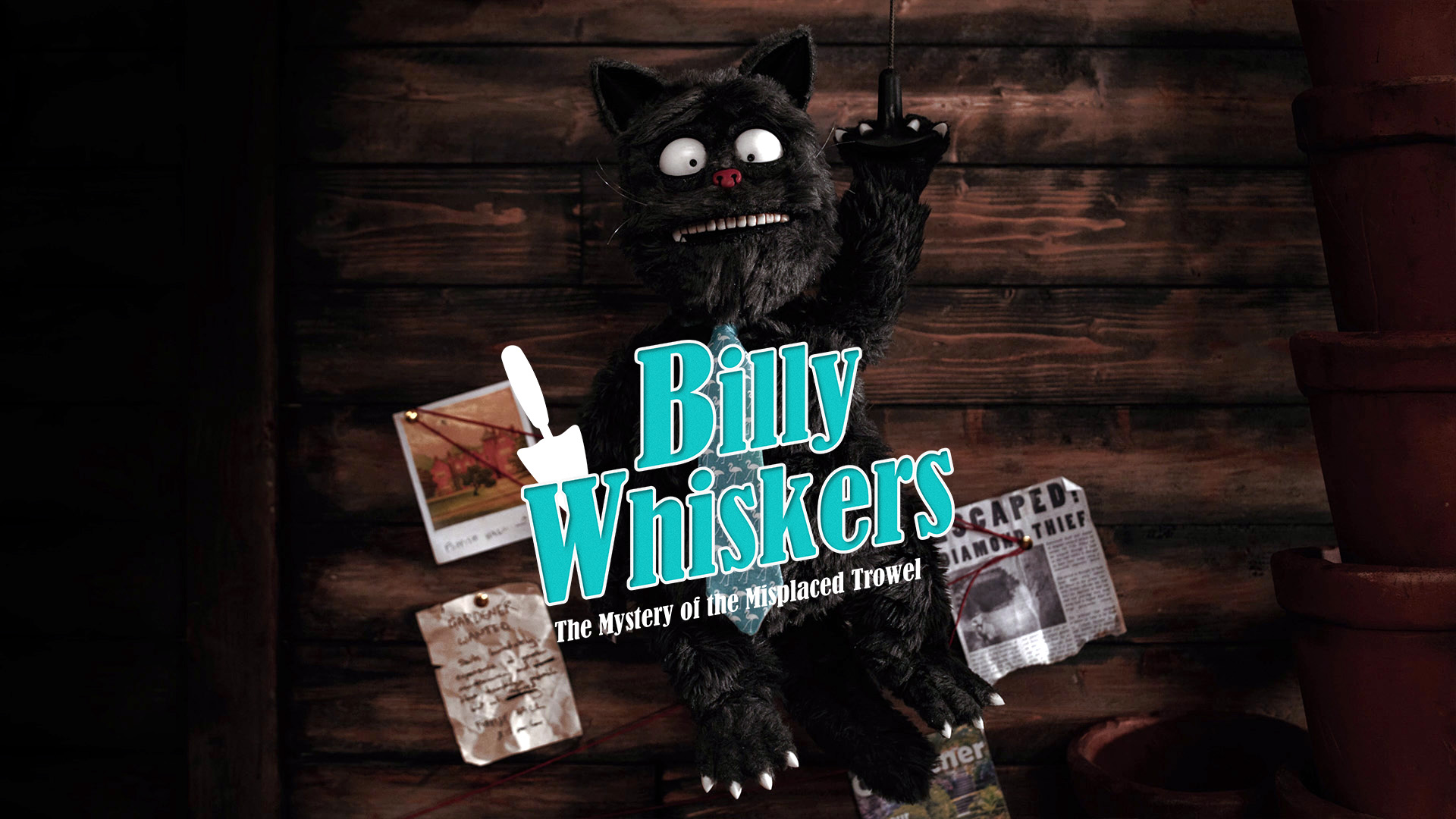 Billy Whiskers - The Mystery of the Misplaced Trowel