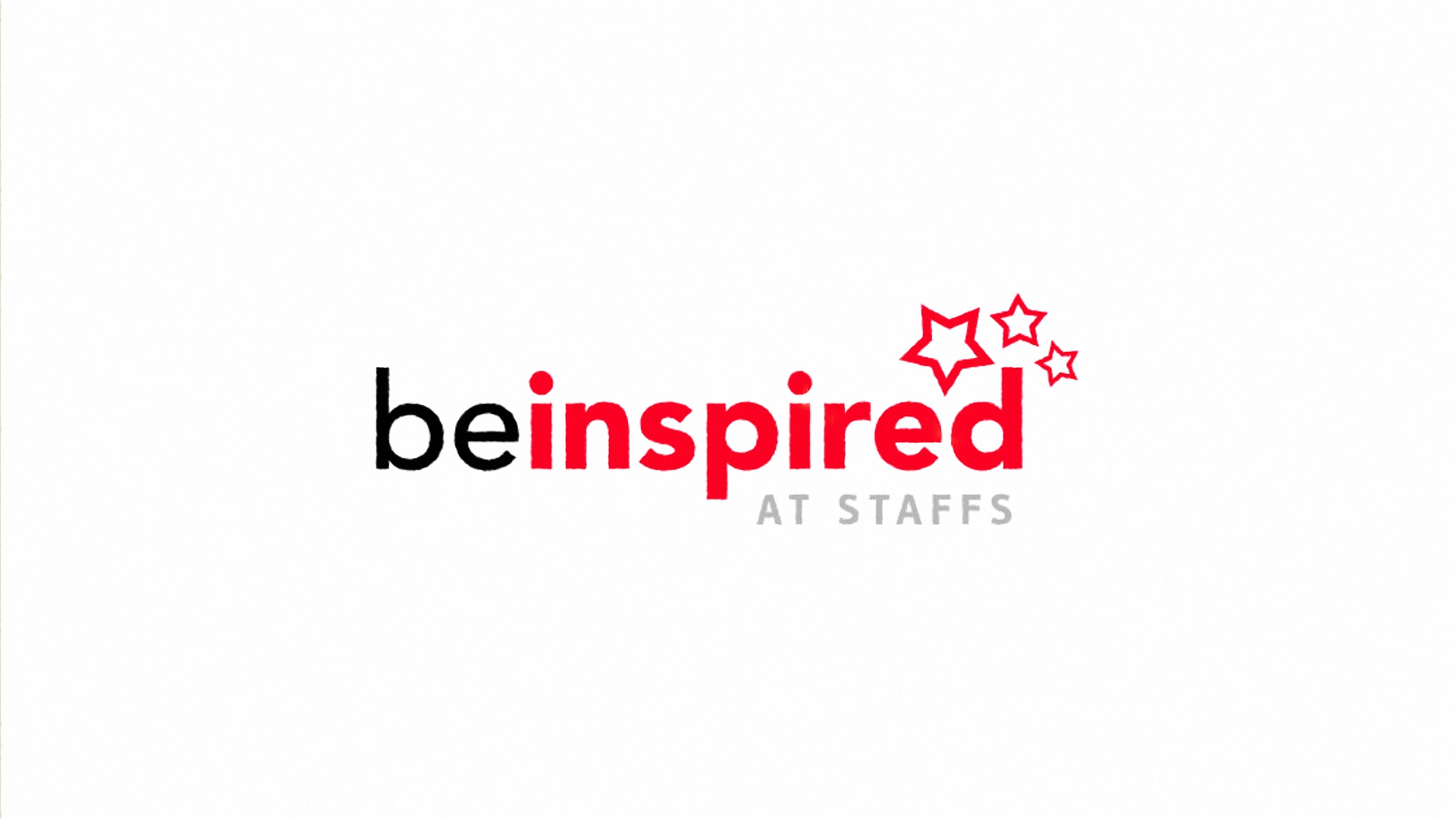Be Inspired - Staffordshire University